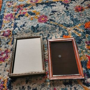 Duo of vintage frames